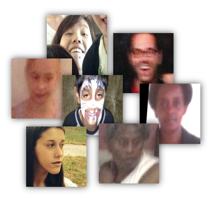 Example images from the AdienceFaces benchmark